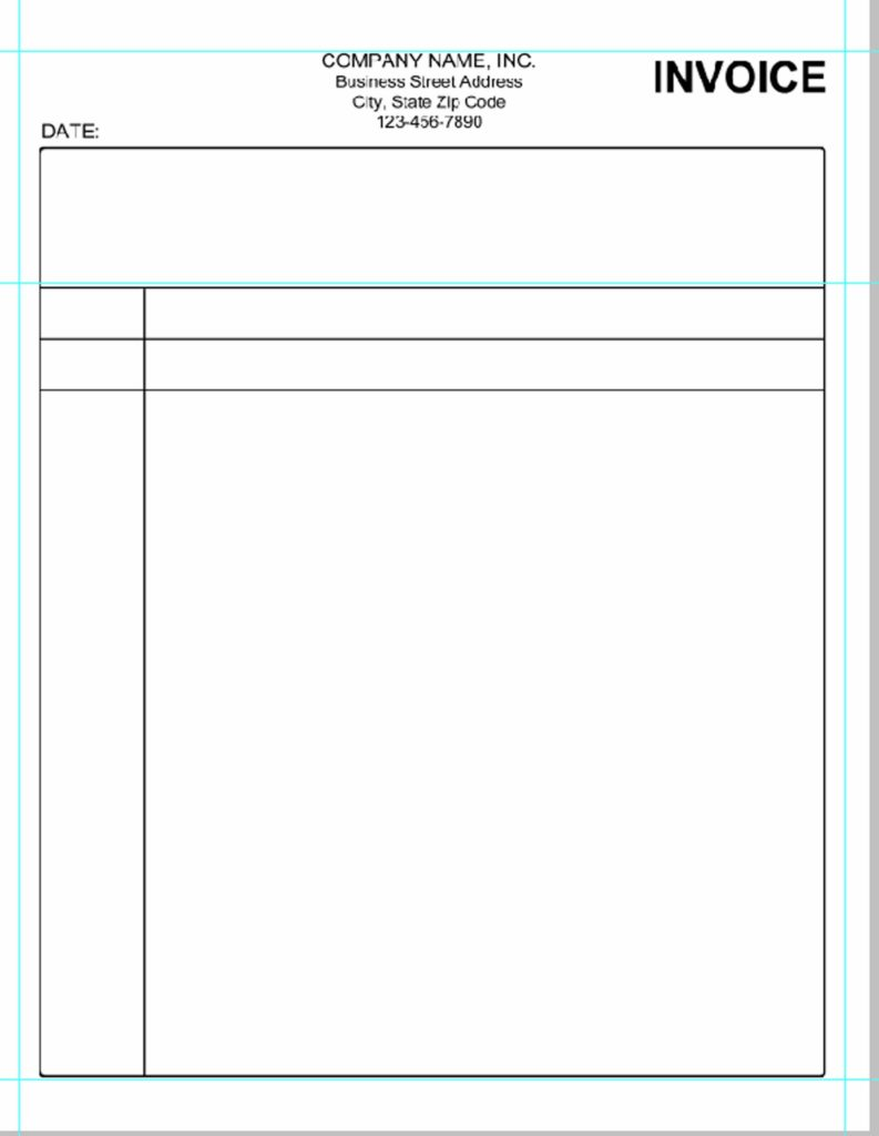 Invoice Template for Painters and Simple Invoice Template Pdf Invoice Example