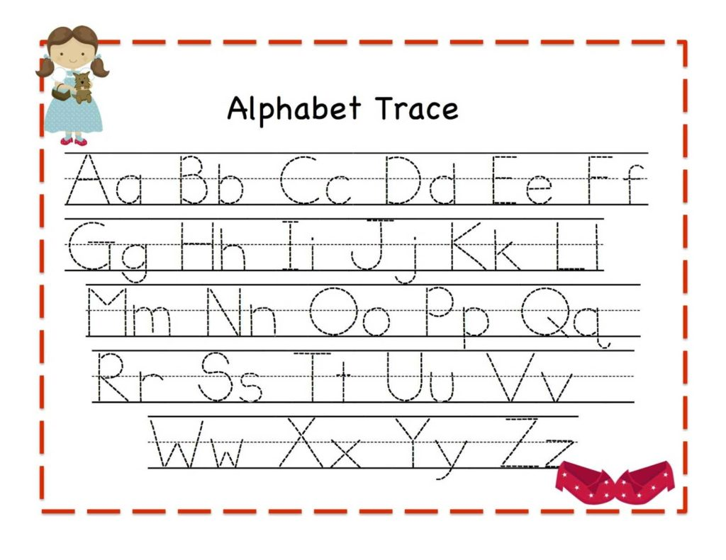 Learn to Write Kindergarten Worksheets and Traceable Alphabet Letters A to Z Palmer Pinterest Alphabet
