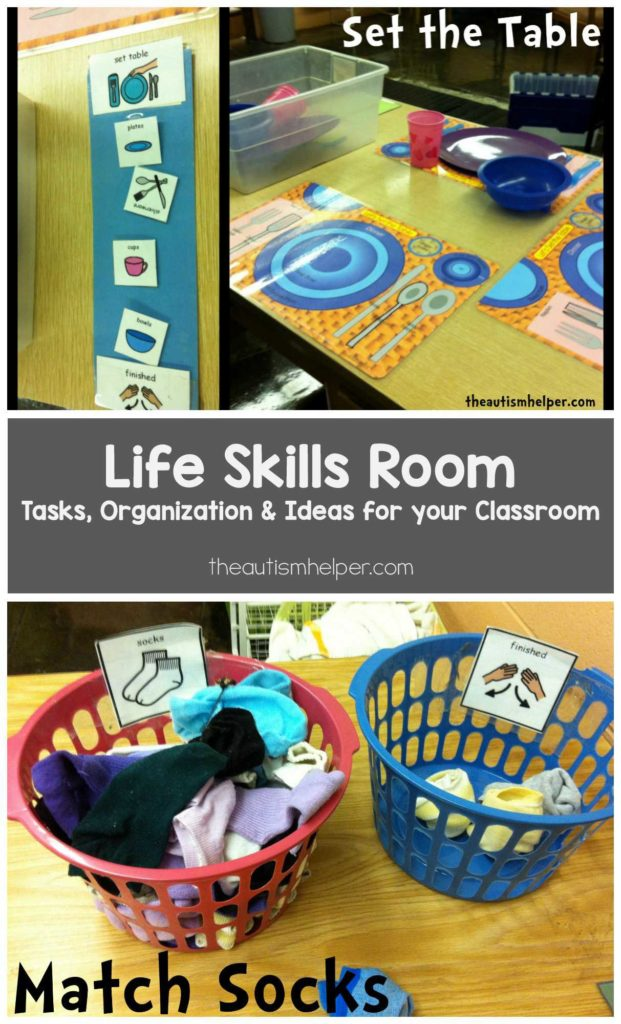 Life Skills Worksheets for Middle School Students and Life Skills Room Help Teaching Life Skills and Autism