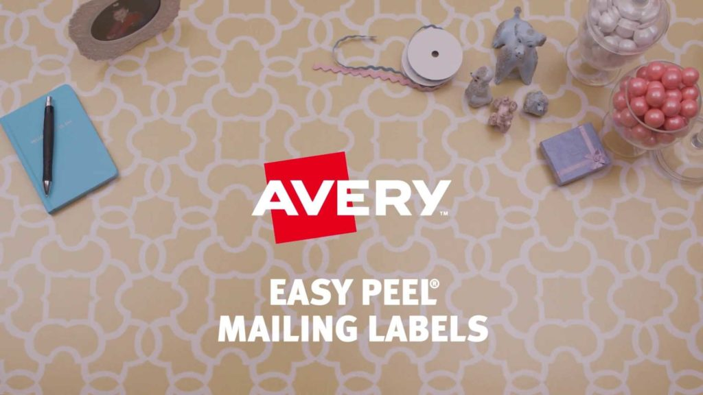 Mailing Label Templates 30 Per Sheet and Avery8920 Address Labels 1 X 2 5 8 Rectangle White