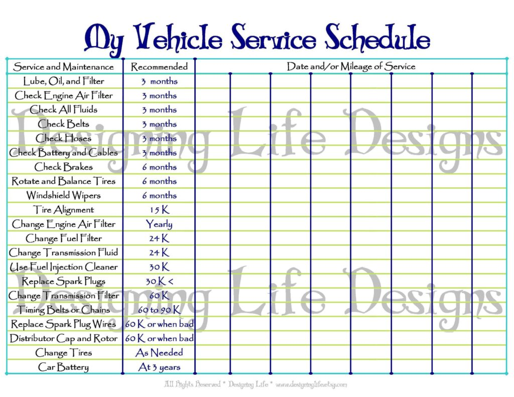 Maintenance Tracking Spreadsheet and Preventive Maintenance Spreadsheet Empeve Spreadsheet Templates
