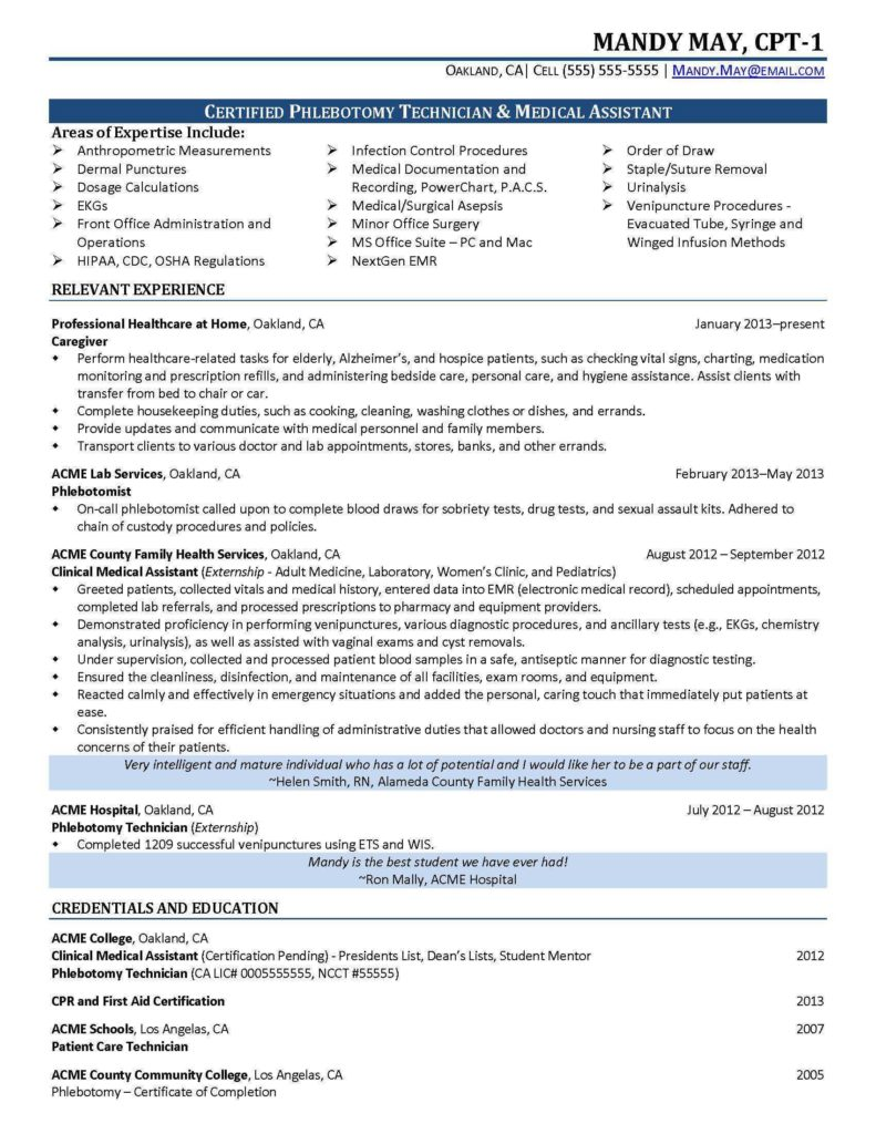 Medical Billing and Coding Certification Exam Sample and Sample Medical assistant Resume Professional Resume for Medical