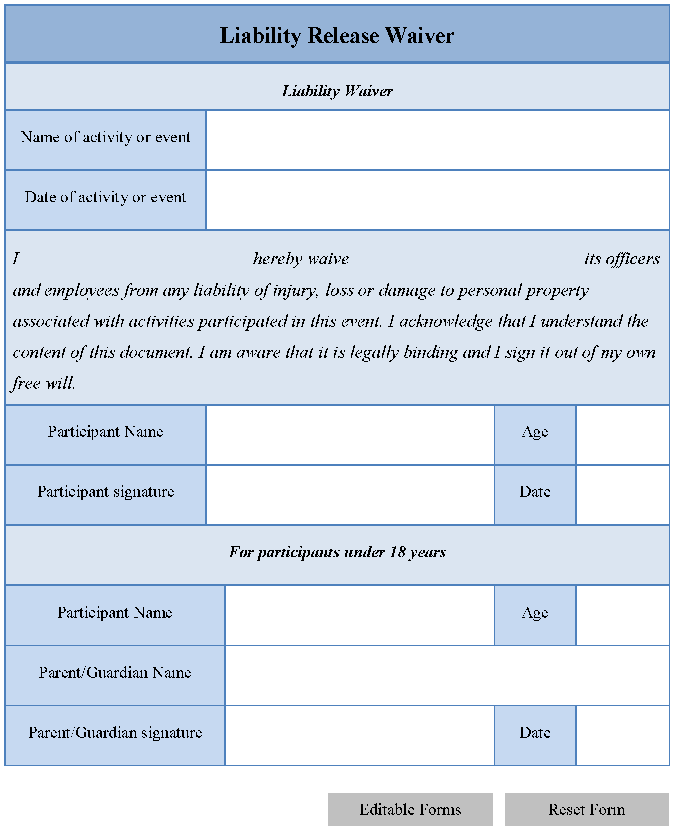 Medical Billing forms Templates and Editable forms