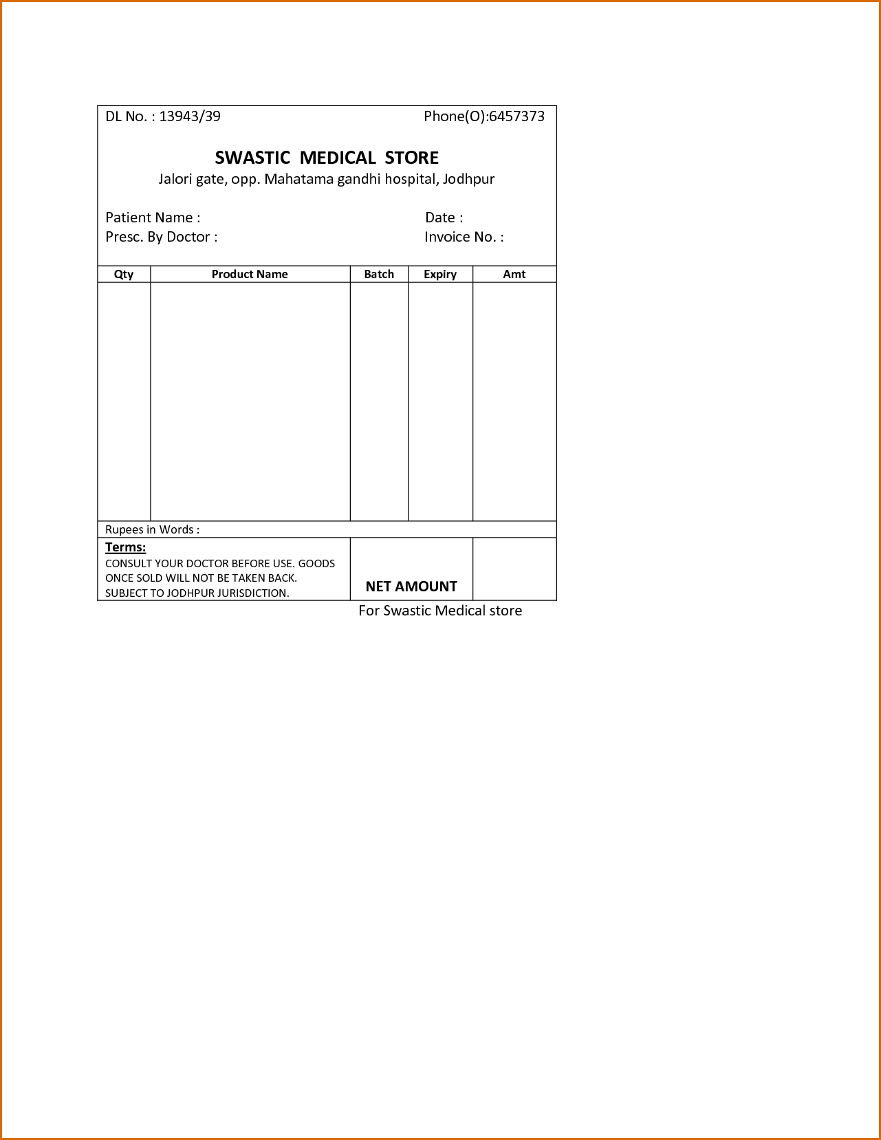 Medical Bills Template and Medical Spreadsheet Templates Laobingkaisuo