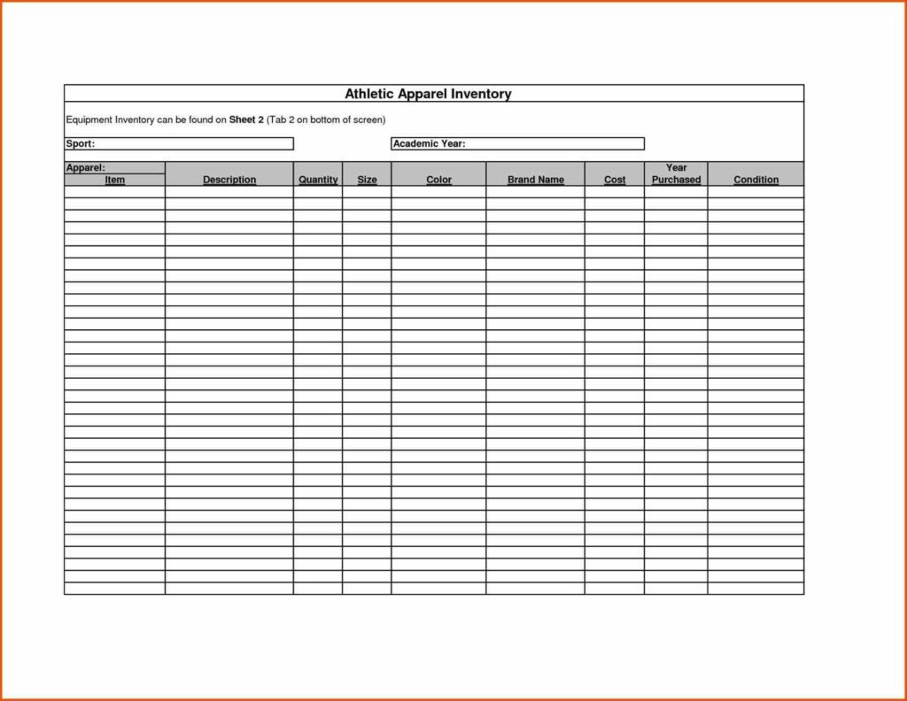 Medical Supply Inventory Spreadsheet and Equipment Inventory List Home Kitchen Equipment List Pictures