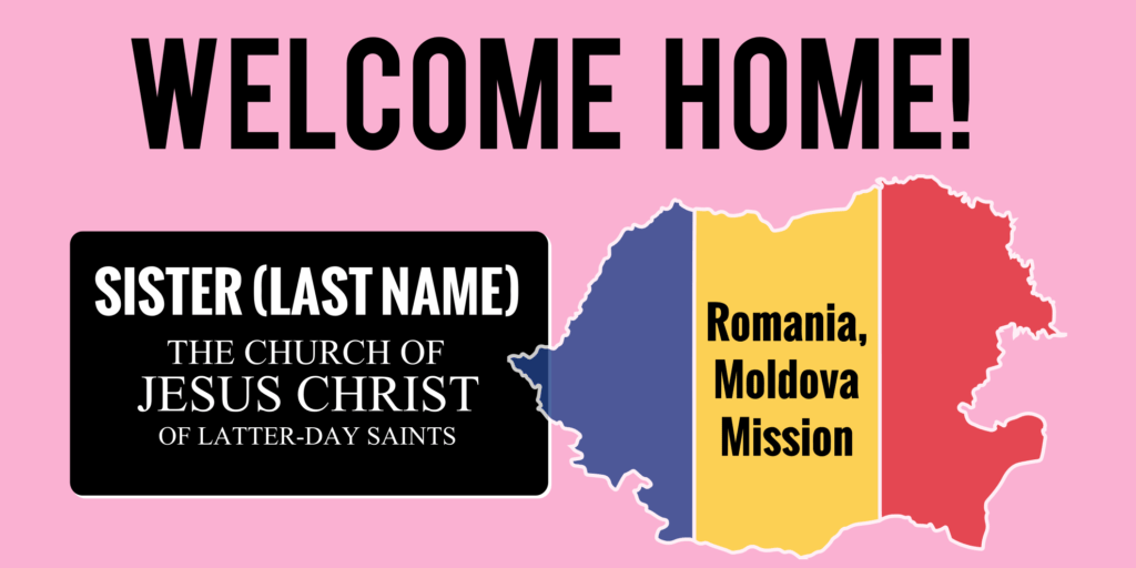 Missionary Mission Statement Examples and Lds Sister Missionary Banner Template Fully Customizable Free