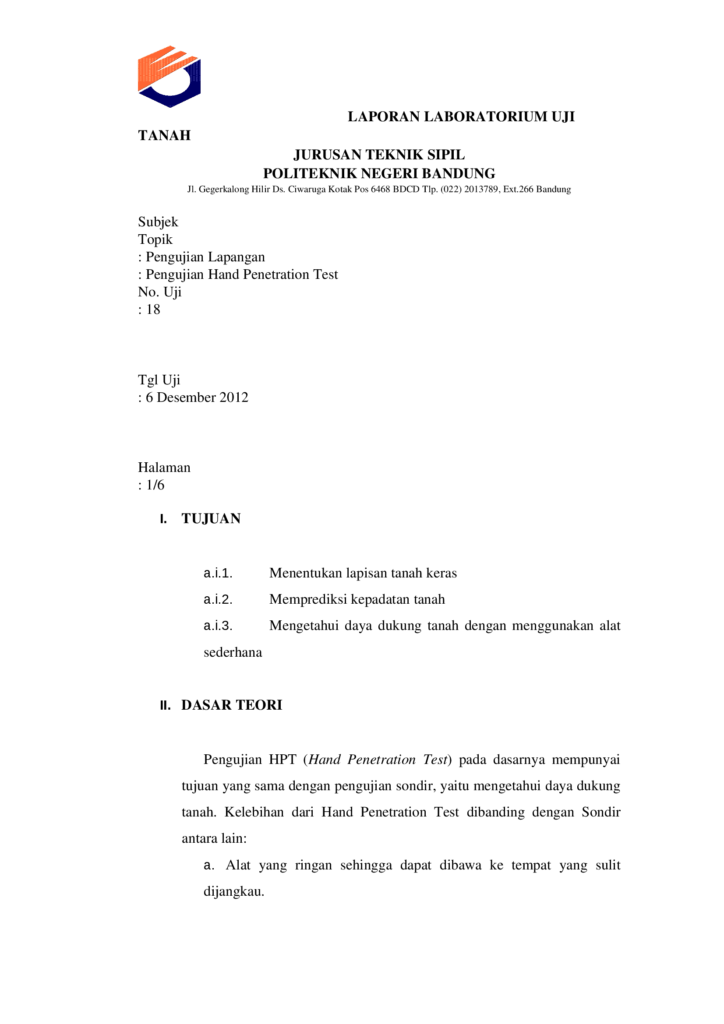 Penetration Testing Sample Report and Hand Penetration Test Hpt Documents