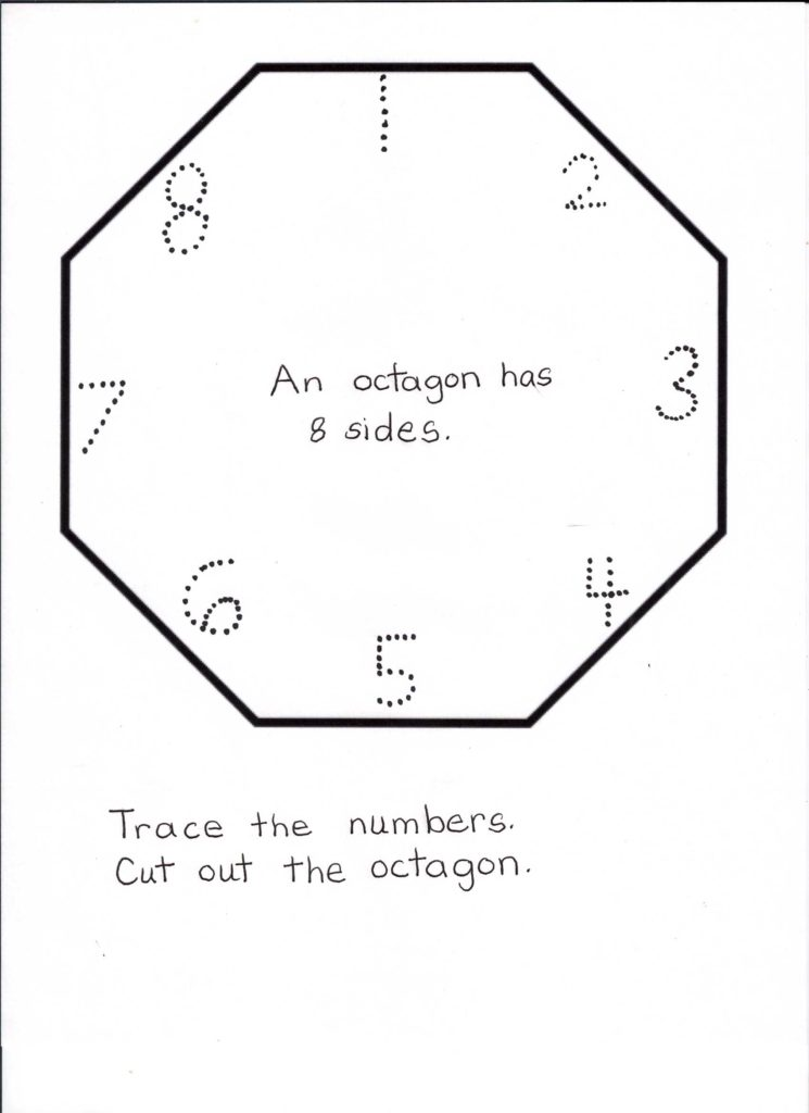Preschool Worksheets Online and Use Online and Classroom Games to Teach Youngsters About Octogons