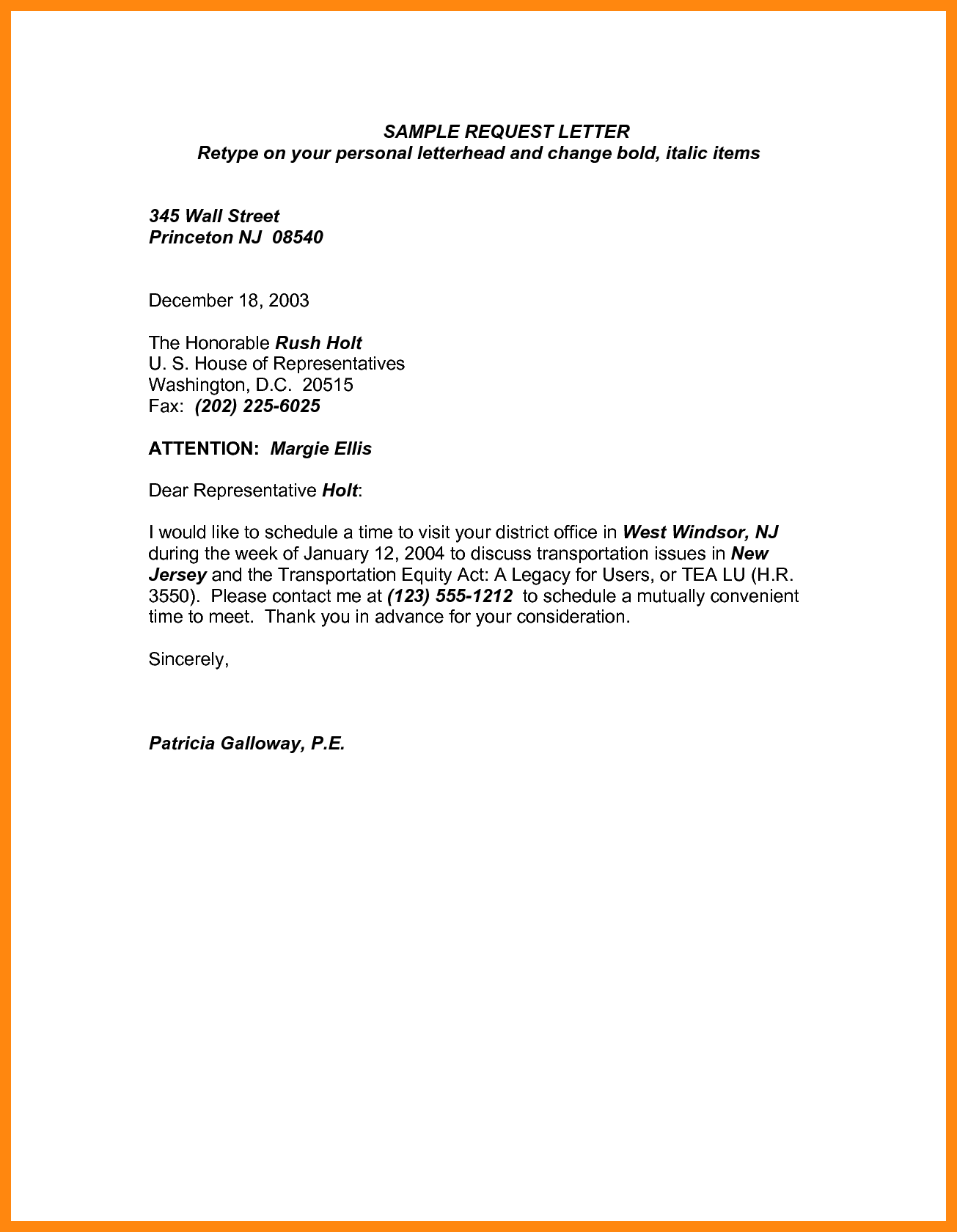 Princeton Bill Template and 6 Time Off Request Letter Graphic Resume