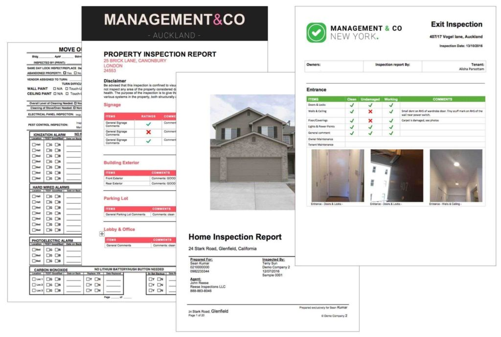 Property Condition assessment Report Template and Mercial Property Inspection Report Template Dingliyeya