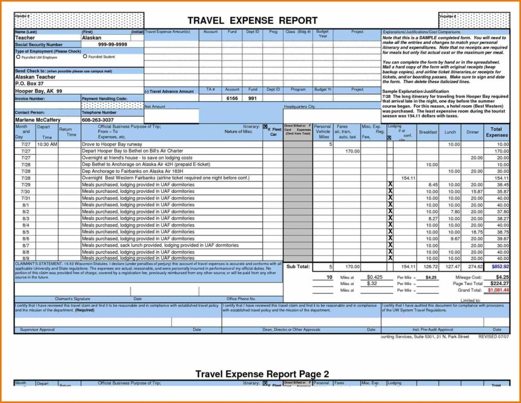 Property Expenses Spreadsheet and and Expenses Spreadsheet Small Business Laobingkaisuo Rental