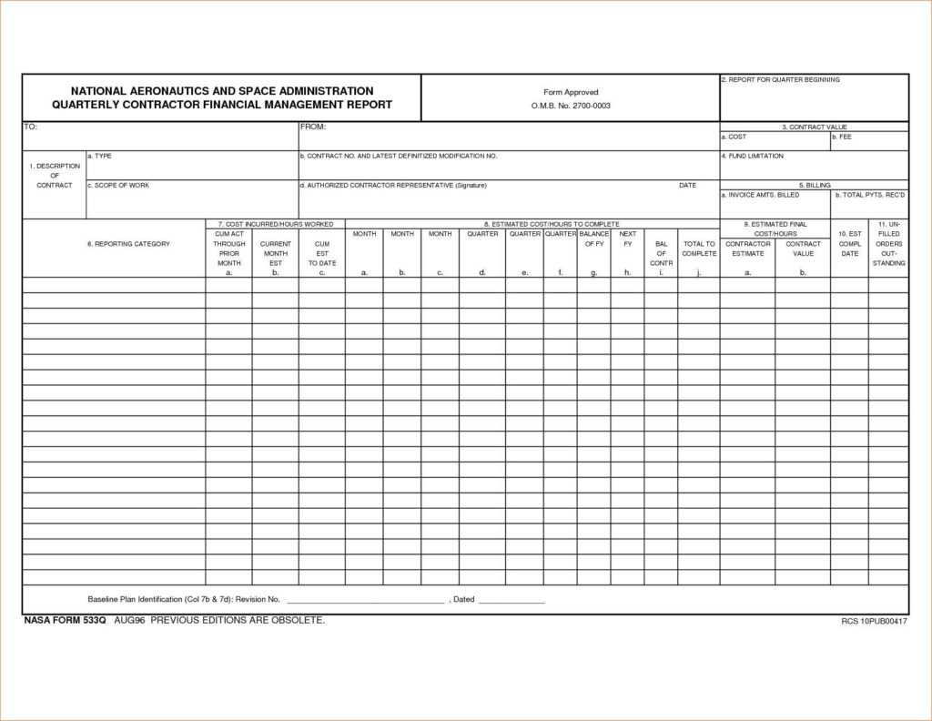 Quarterly Expense Report Template and Doc Sample Quarterly Report Template Sample Project
