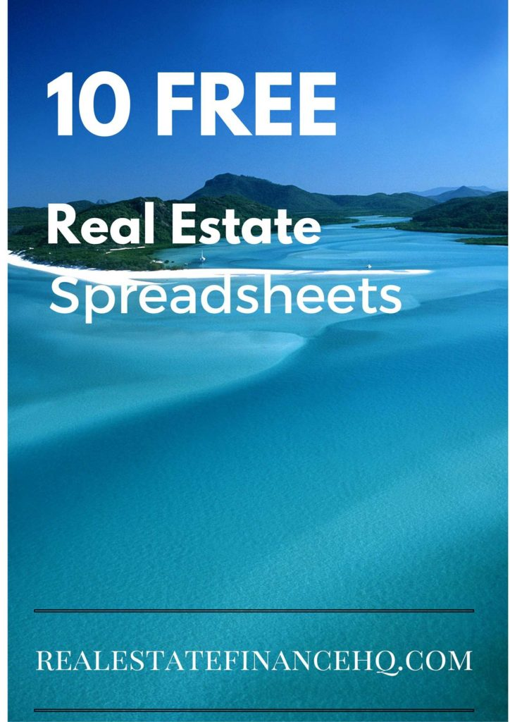 Real Estate Agent Expense Tracking Spreadsheet and 10 Free Real Estate Spreadsheets Real Estate Finance