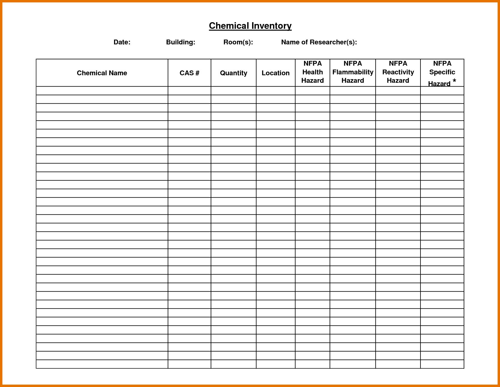 Restaurant Inventory Spreadsheet and Yaruki Upfo