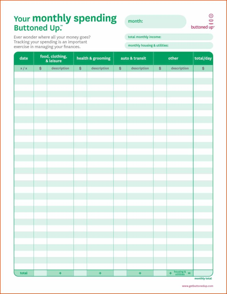Retirement Expense Worksheet and In E and Expense Worksheet Free Worksheets Library Printable
