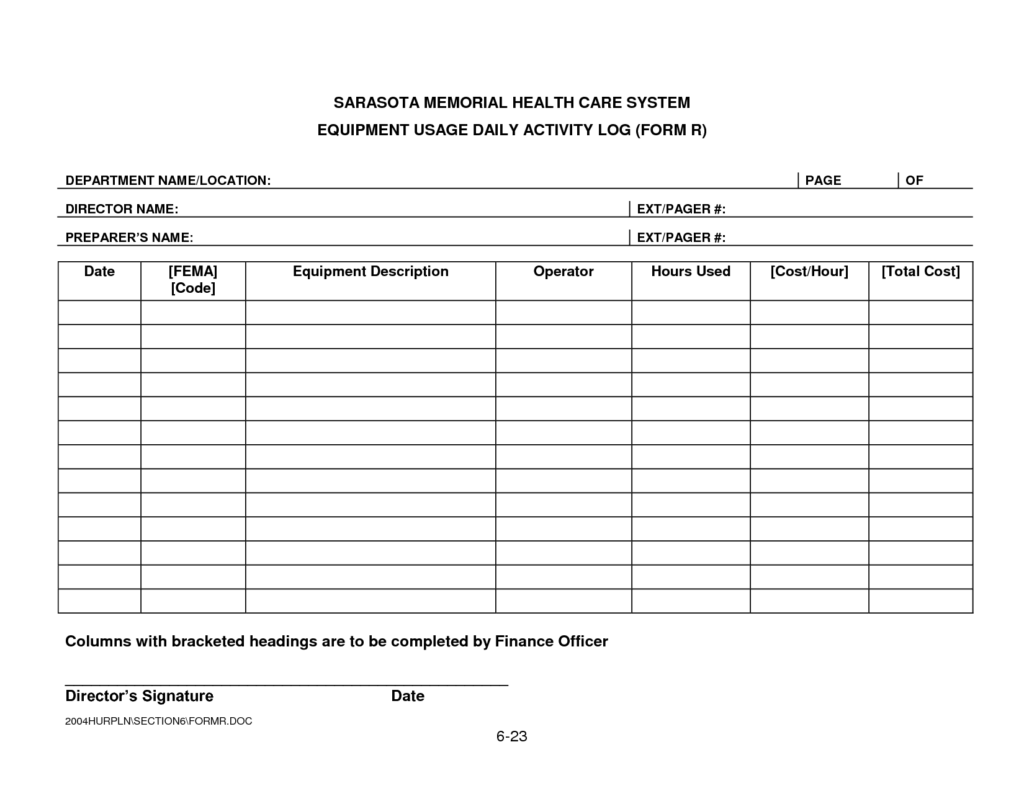 Sales Activity Tracking Spreadsheet and Daily Activity Log Template Excel