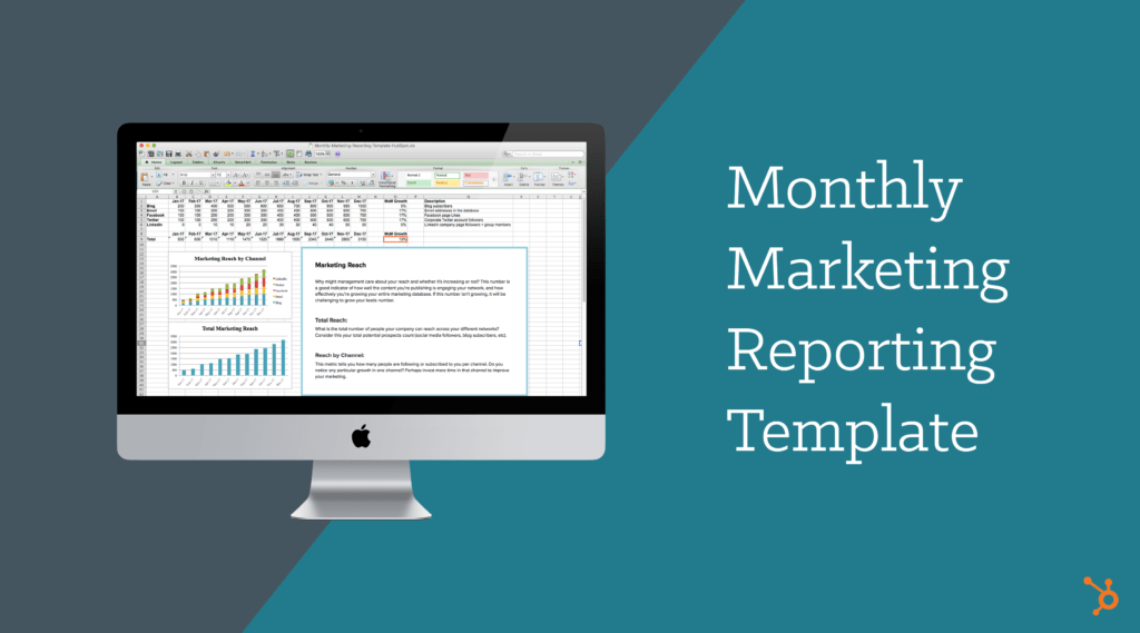 Sales Reports Templates Free Download and Monthly Marketing Reporting Template Free