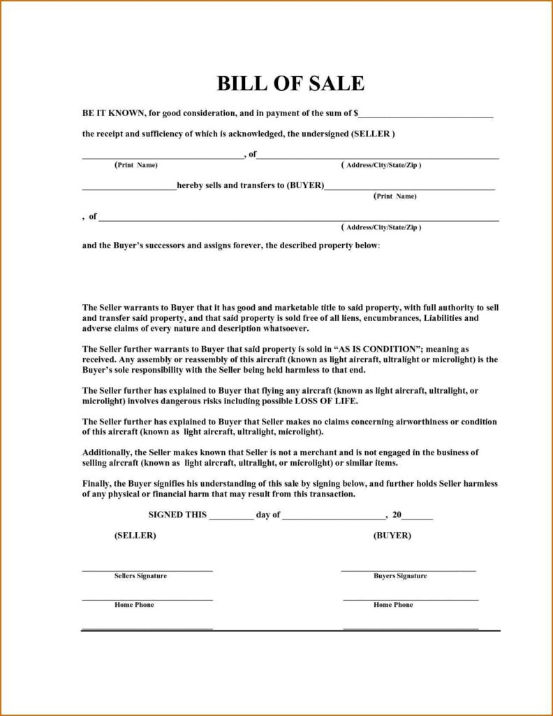 Sample Automobile Bill Of Sale and Car Bill Of Sale Template Pdf Teerve Sheet