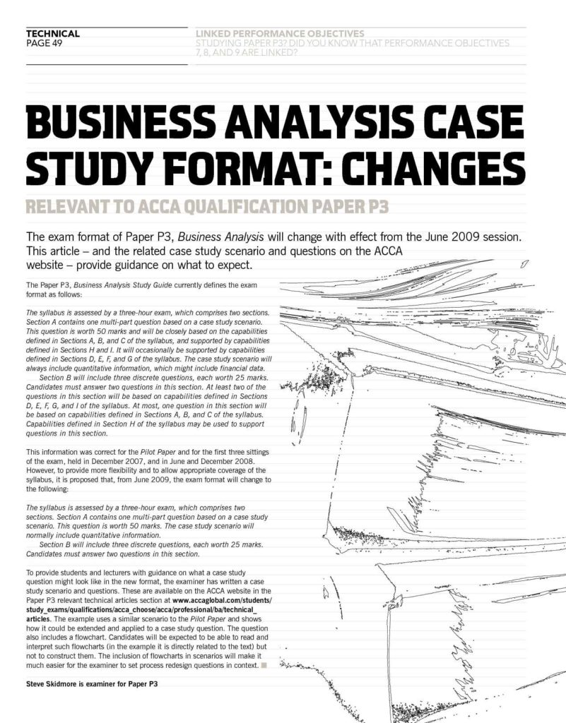 Sample Business Analysis Report and Business Case Analysis Template Template Idea