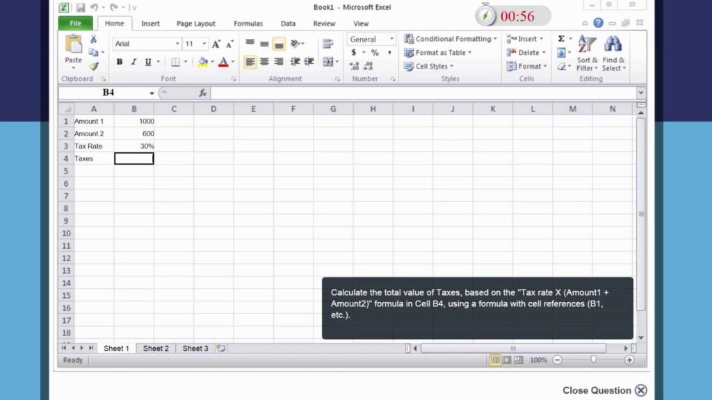Sample Excel Data for Analysis and Microsoft Excel Advanced Level Test Quick Sample Youtube