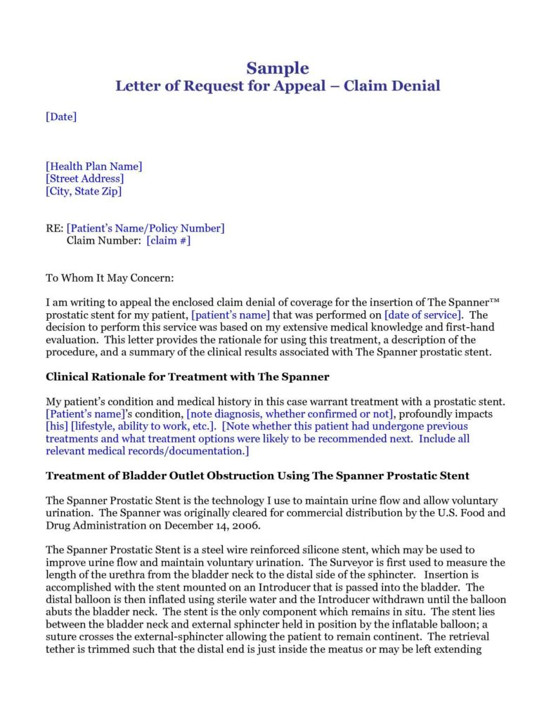 Sample Letters Of Appeal Medical Billing and Sample Letters Of Appeal Medical Billing asepag Spreadsheet