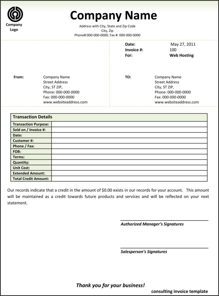 Sample Of Contractor Invoice and Contractor Invoice Template Word Free Rabitah