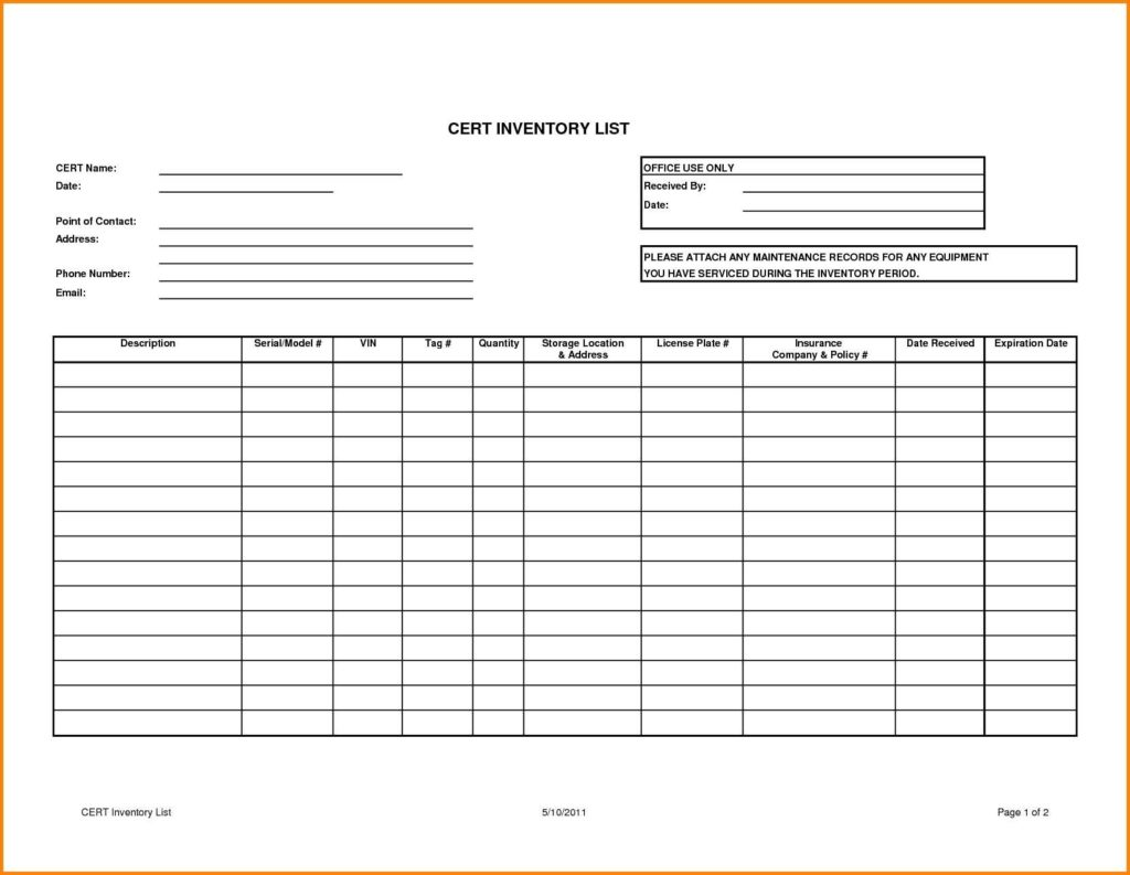 Samples Of Spreadsheets and Doc Sample Inventory Template Inventory Spreadsheet