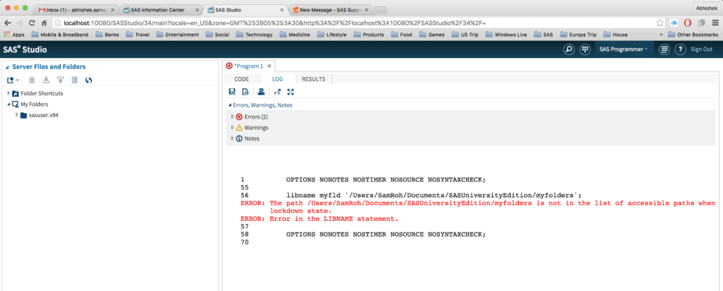 Sas 70 Report Example and solved Can T Access Default Shared Folder Sas Support Munities
