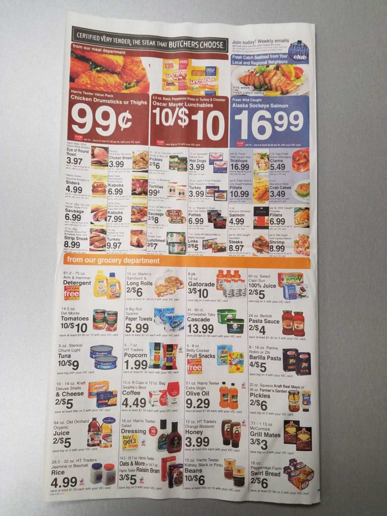 Scan to Spreadsheet and Harris Teeter Deals Weekly List and Coupon Matchups 7 12 7 18