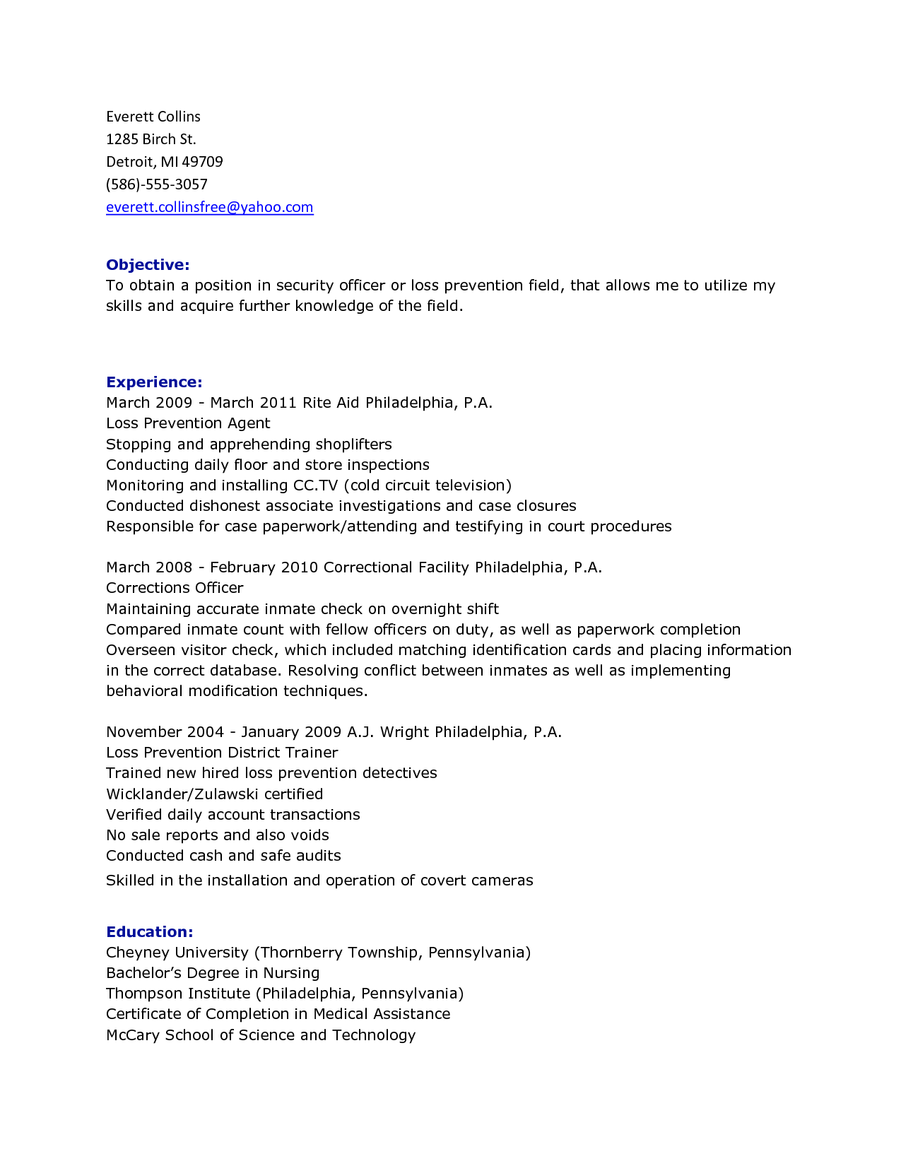 Security Officer Daily Activity Report Template and Gatehouse Security Guard Sample Resume Proposal Templates for Word