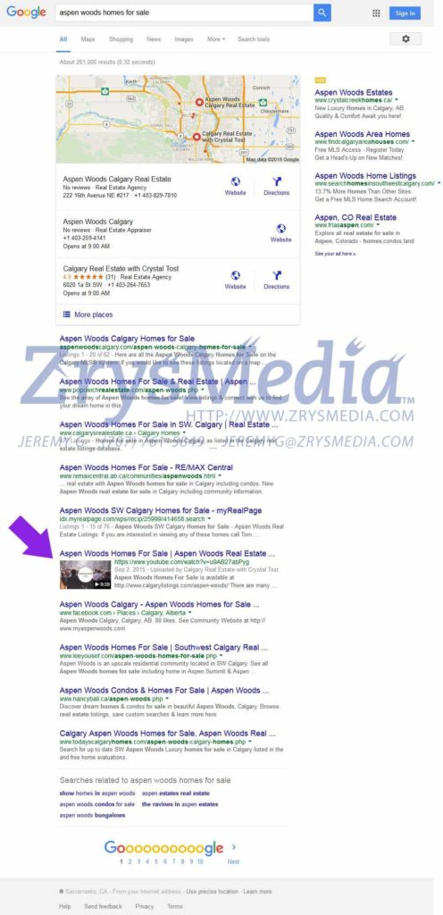 Seo Audit Report Sample and Real Estate Seo Sacramento Seo Pany Zrysmedia