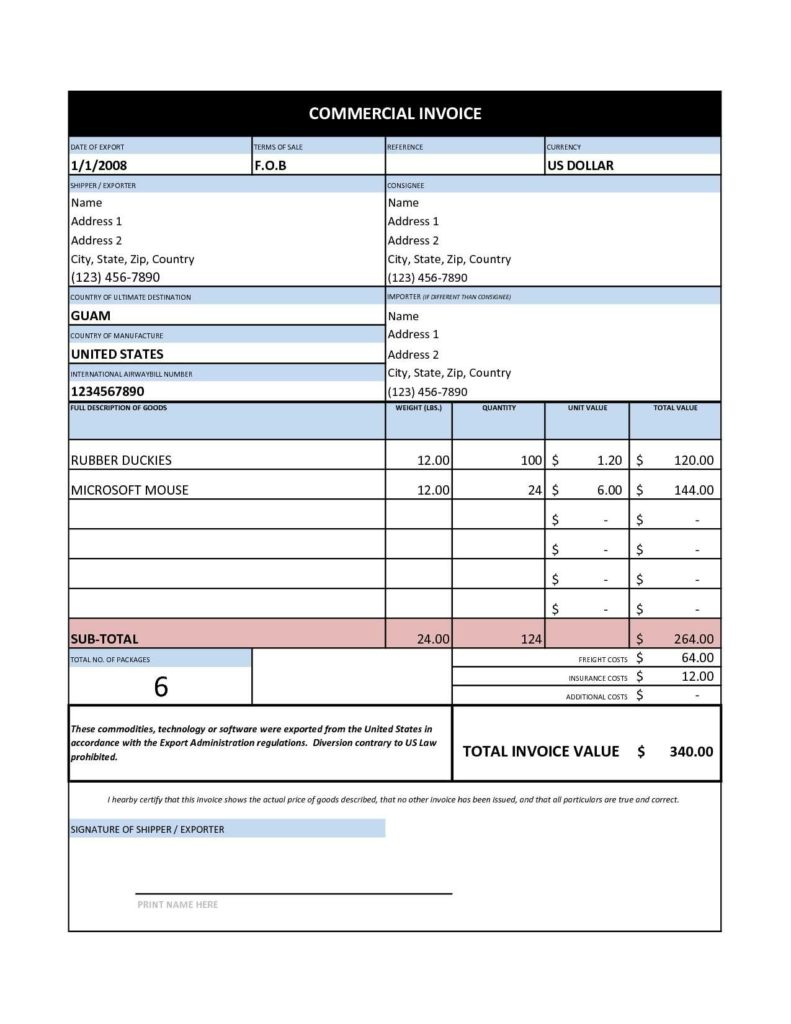 Service Bill Template and Tally Invoice Template Excel Rabitah