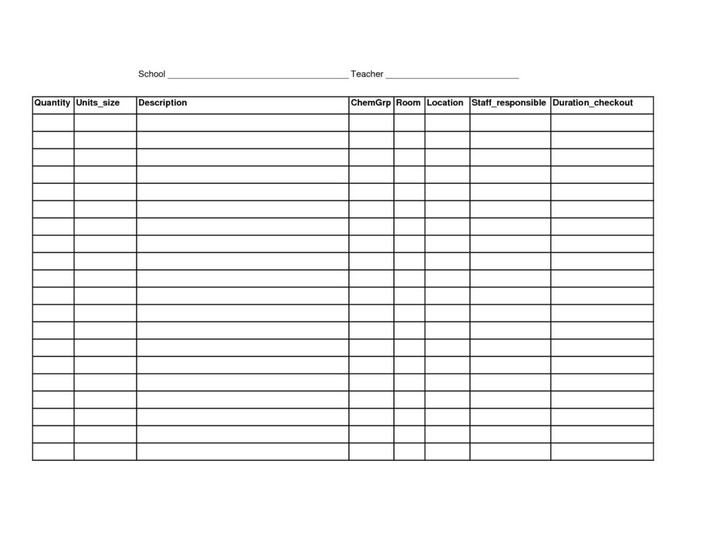 Simple Inventory Sheet Template and 100 Excel Inventory Templates Excel issue Tracking Template