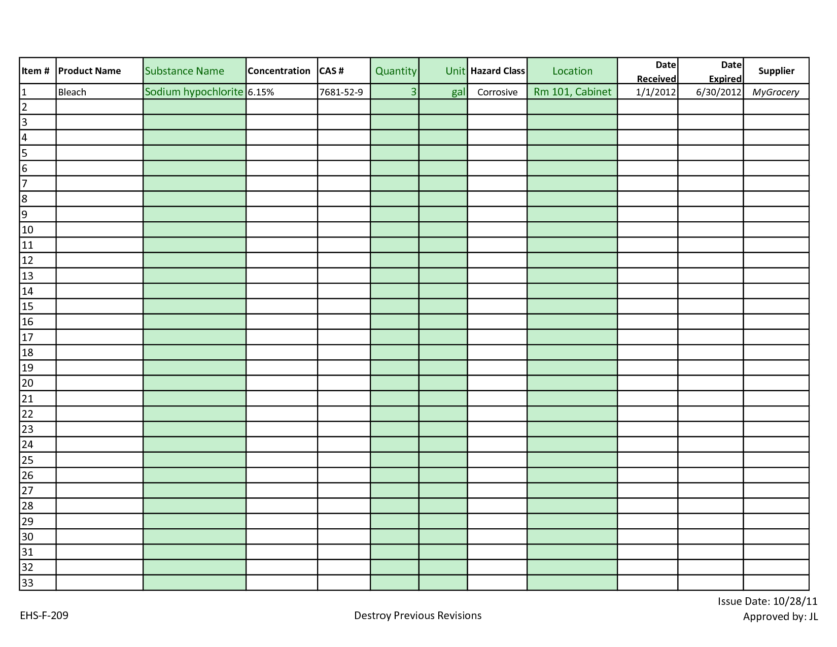 Simple Inventory Sheet Template and Best Photos Of Excel Inventory Template Excel Inventory Sheet