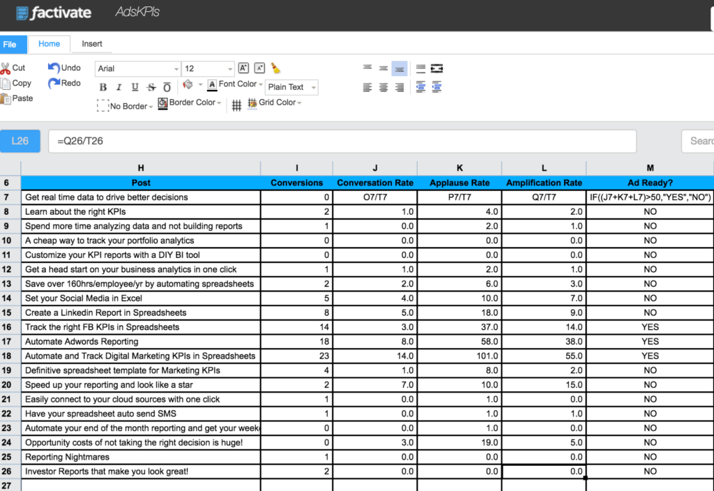 Social Media Tracking Spreadsheet and How to Track Linkedin Ads Kpis In A Spreadsheet for Digital Marketers