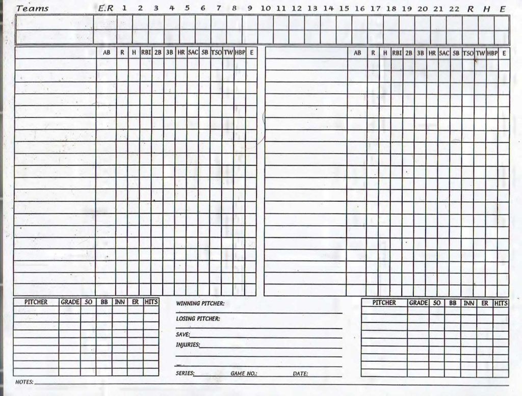 Softball Stats Spreadsheet and Baseball Stats Spreadsheet Papillon northwan