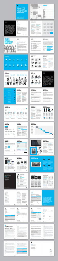 Software Development Estimate Template and Business Proposal Template W Resume Invoice 60 Pages by Land
