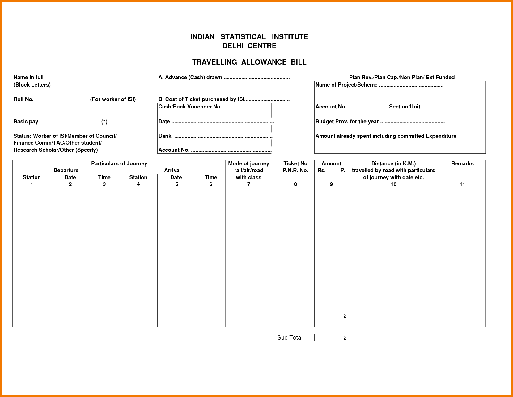 Taxi Bill Template and 5 Food Bill format Pdf Financial Statement form