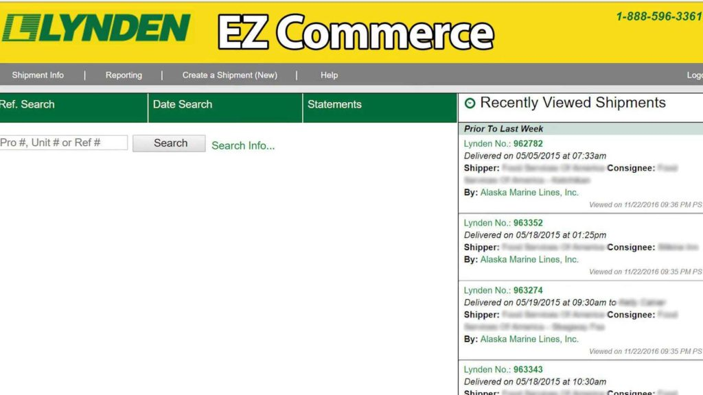 Trucking Bill Of Lading Template and Ez Merce Help Lynden Inc