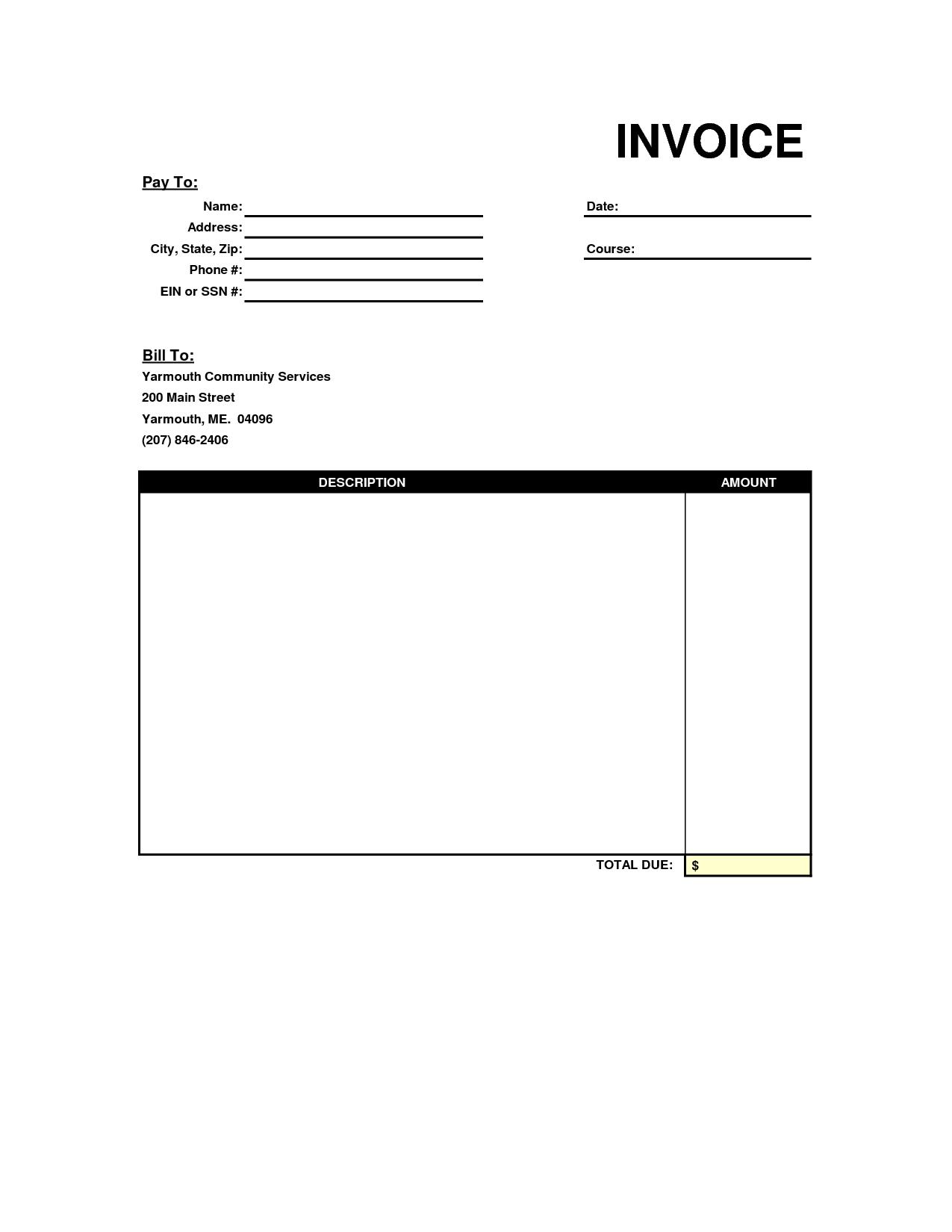 Trucking Invoice Sample and Invoice Template Alberta Rabitah