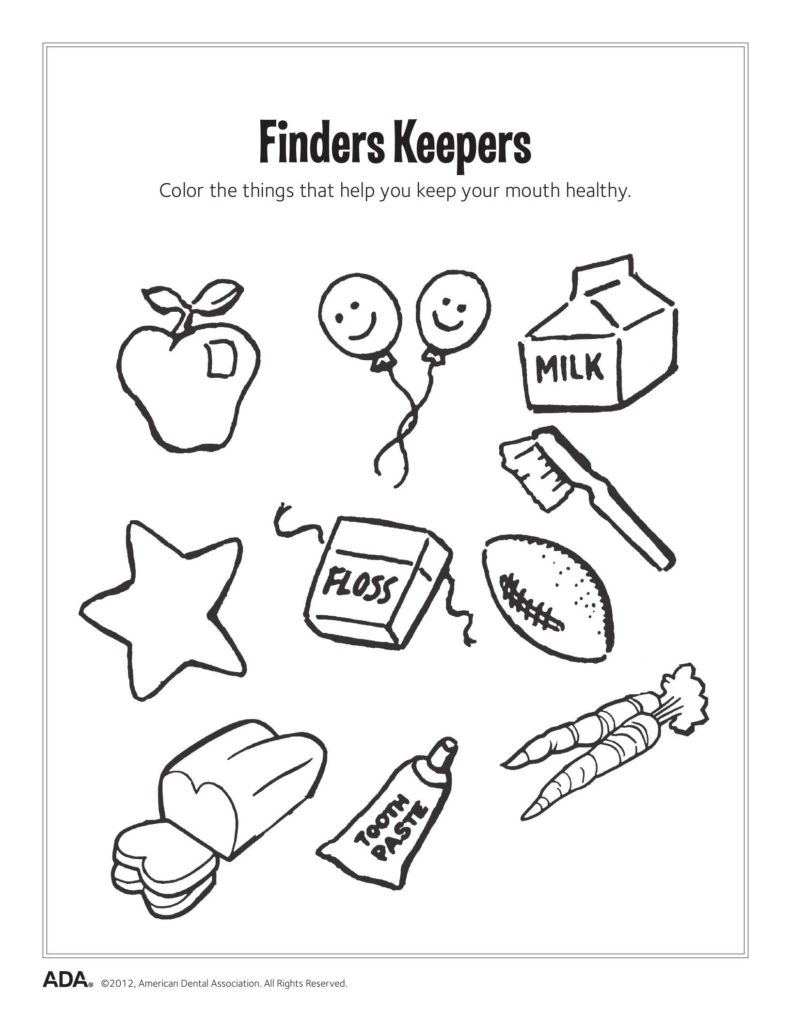 Worksheets On Health and Hygiene and 11 Dental Health Activities Puzzle Fun Printable Dental