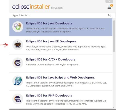 Creating JSF Application by using Eclipse , Maven and Tomcat