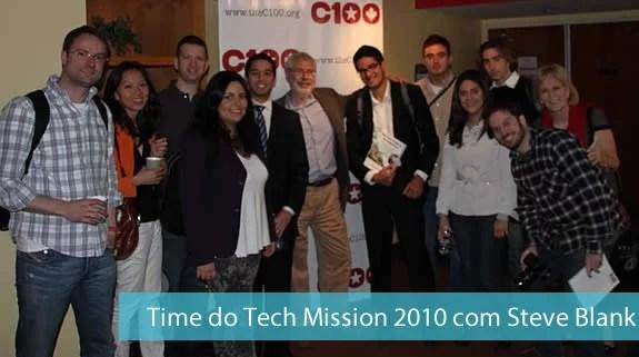 Tech Mission com Steve Blank