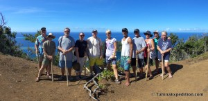 Group shot from Cobia Crater