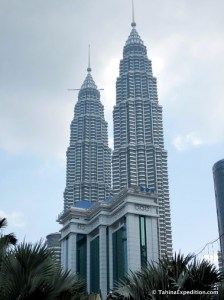Petronas Towers in KL