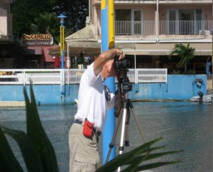 Frank Shooting a 360 Panorama