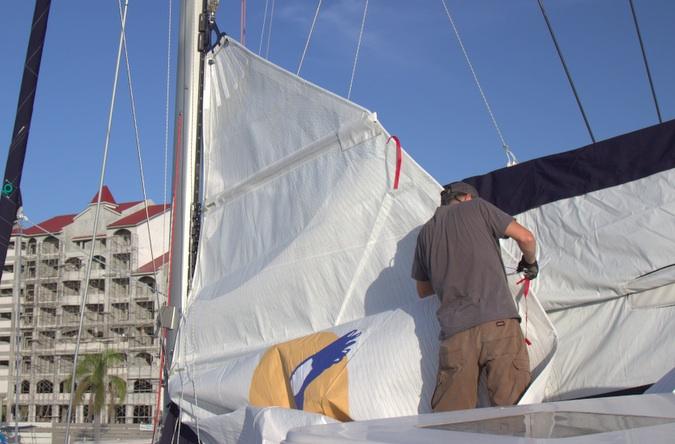 Installing mainsail