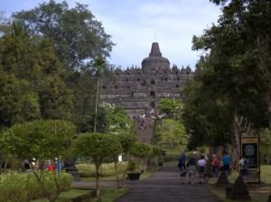 Entrance to Borobudur