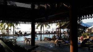 View from restaurant in Tioman