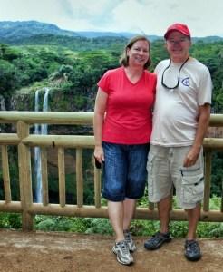 At Chamarel Falls